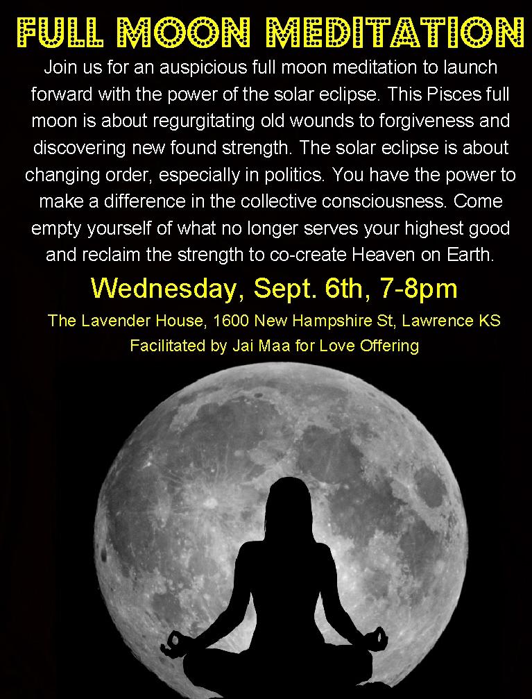 Full Moon Meditation | Break Through Your Threshold